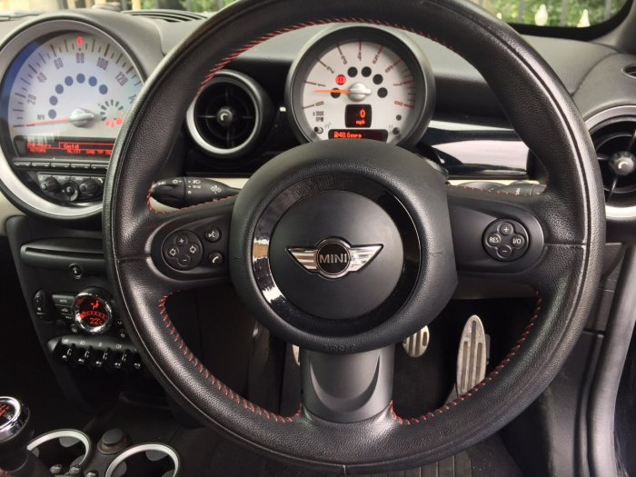 Mini Coupe 1.6 Cooper S 3dr Coupe Petrol Black