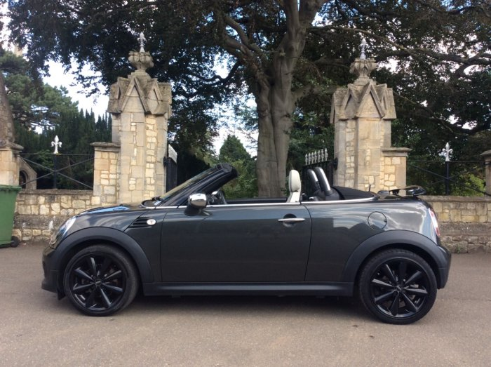 Mini Roadster 1.6 Cooper 2dr Convertible Petrol Grey