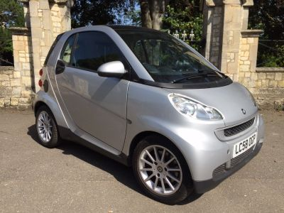 Smart Fortwo Coupe 1.0 Passion mhd 2dr Auto Coupe Petrol SilverSmart Fortwo Coupe 1.0 Passion mhd 2dr Auto Coupe Petrol Silver at New March Car Centre March