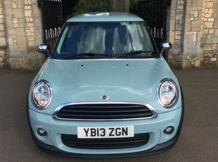 Mini Hatchback 1.6 One 3dr Hatchback Petrol Blue