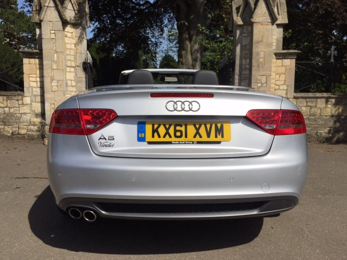 Audi A5 2.0 TDI S Line Cabriolet 2dr [Start Stop] Convertible Diesel Silver