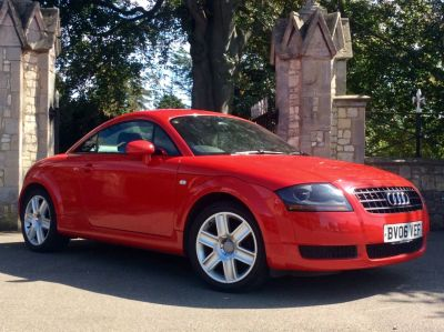 Audi TT 1.8 T 2dr [190] Coupe Petrol RedAudi TT 1.8 T 2dr [190] Coupe Petrol Red at New March Car Centre March