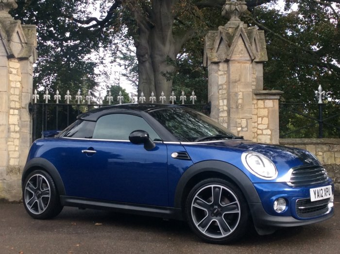 Mini Coupe 1.6 Cooper 3dr Coupe Petrol Blue