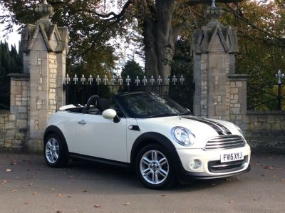 Mini Roadster 1.6 Cooper 2dr Convertible Petrol WhiteMini Roadster 1.6 Cooper 2dr Convertible Petrol White at New March Car Centre March