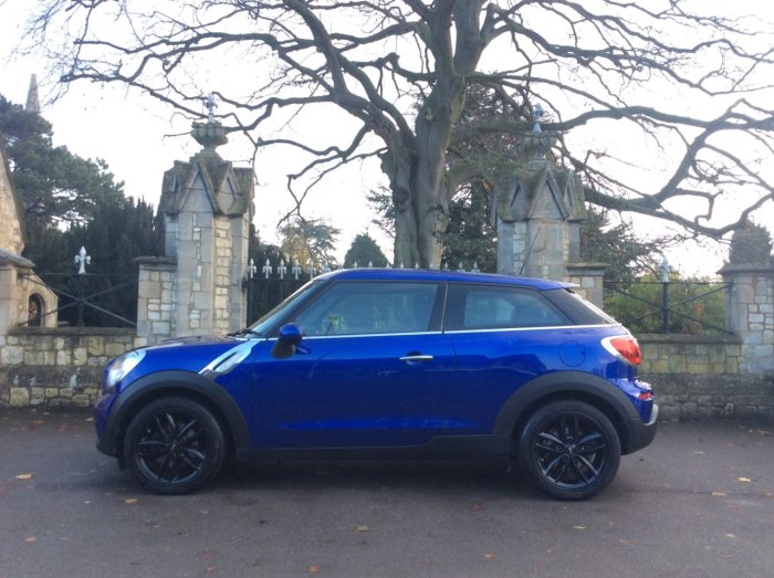 Mini Paceman 1.6 Cooper Sport Chili Full leather 3dr Coupe Petrol Blue