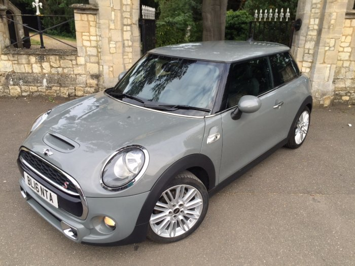 Mini Hatchback 2.0 Cooper S D 3dr Hatchback Diesel Grey