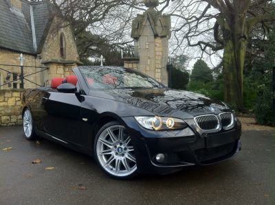 BMW 3 Series 3.0 325i M Sport 2dr Step Auto Convertible Petrol BlackBMW 3 Series 3.0 325i M Sport 2dr Step Auto Convertible Petrol Black at New March Car Centre March