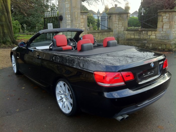 BMW 3 Series 3.0 325i M Sport 2dr Step Auto Convertible Petrol Black