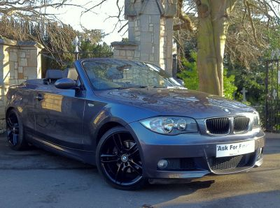BMW 1 Series 2.0 120i M Sport 2dr Convertible Petrol GreyBMW 1 Series 2.0 120i M Sport 2dr Convertible Petrol Grey at New March Car Centre March