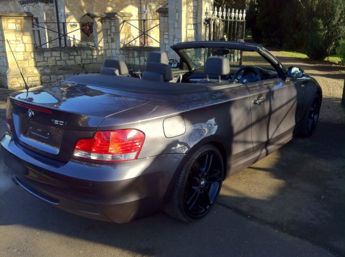 BMW 1 Series 2.0 120i M Sport 2dr Convertible Petrol Grey